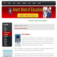 Anant Word of Education..